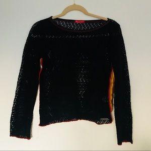 90s style vintage mesh top